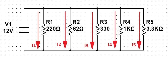 Circuito En Paralelo Ejemplos : Circuitos elÉctricos geek electrónica