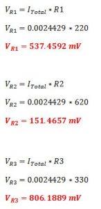 Calculos 1 circuito serie