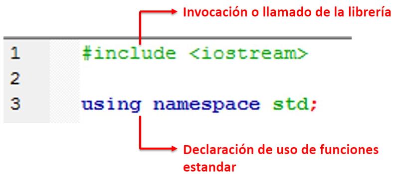 include iostream