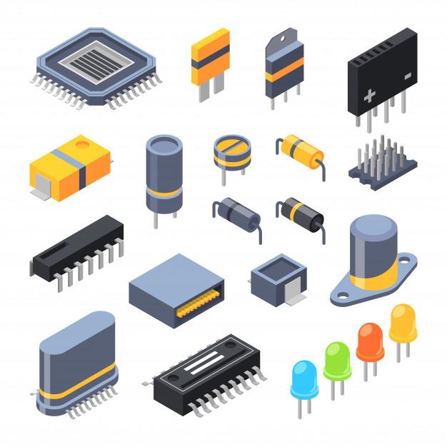 Componentes electrónicos.