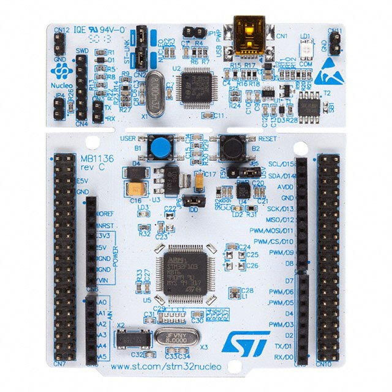 Tarjeta STM32 Nucleo 64 Con procesor ARM Cortex M4